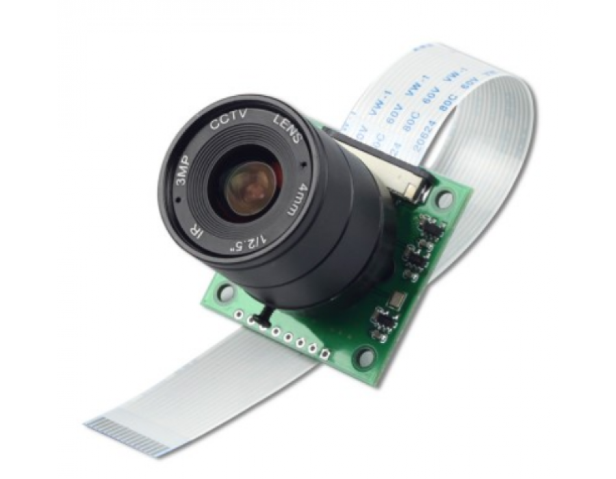 ArduCAM 8 MP Sony IMX219 Camera Module with CS lens 2718 / M12 lens LS40136  for Raspberry Pi
