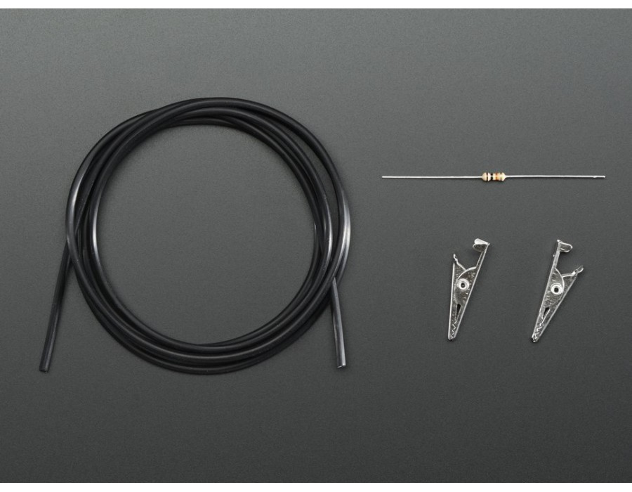 Buy Conductive Rubber Cord Stretch Sensor Extras Online