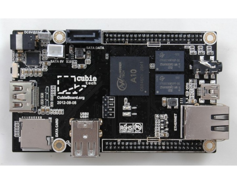 Cubieboard - 1GHz Android/Linux Computer