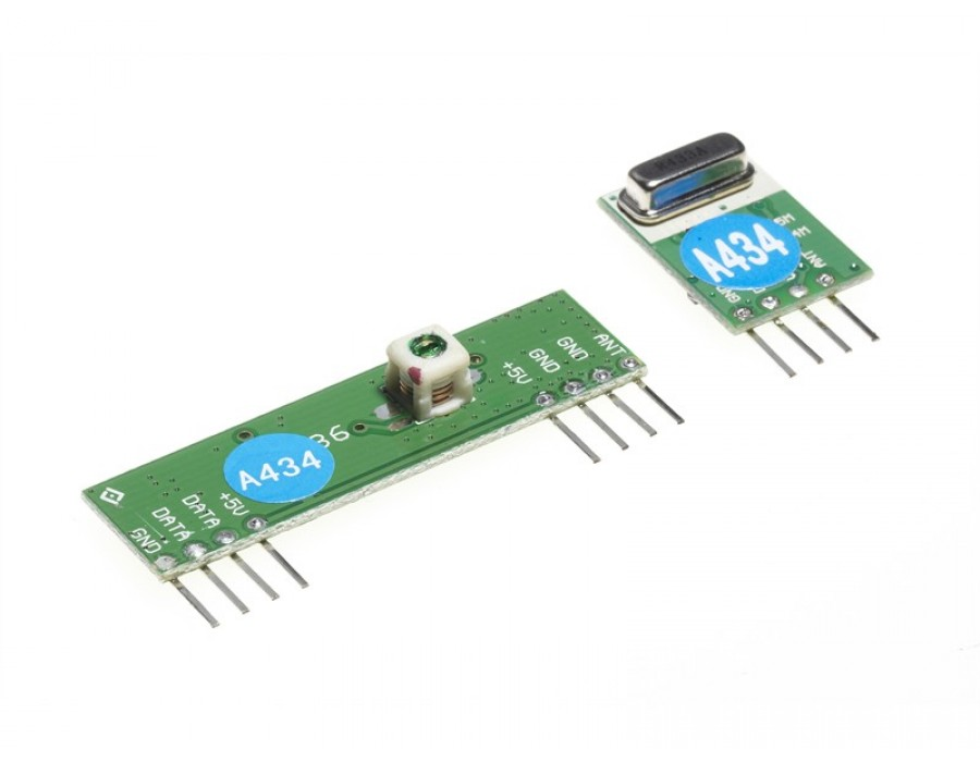 PICAXE-433MHz Radio Transmitter and Receiver Pair RFA001