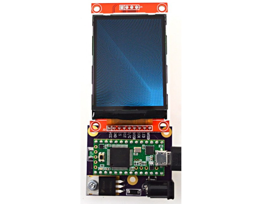 Color 320x240 TFT Display, ILI9341 Controller Chip