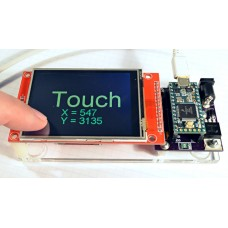 Color 320x240 TFT Touchscreen, ILI9341 Controller Chip