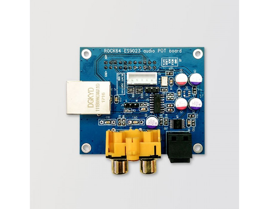 Pine64 ROCK64 Stereo Audio DAC ADD-ON Board - R64-AUDIO