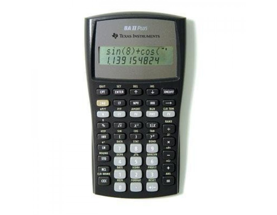 financial calculator - ti baii plus u2122