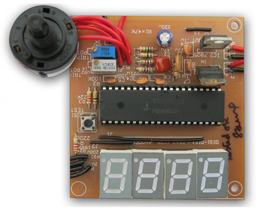 garage sale gift ideas - Digital Voltmeter Kit