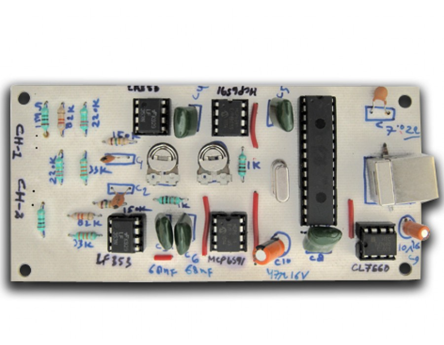 Pc Based Oscilloscope : Buy two channel pc based oscilloscope onile in india fab