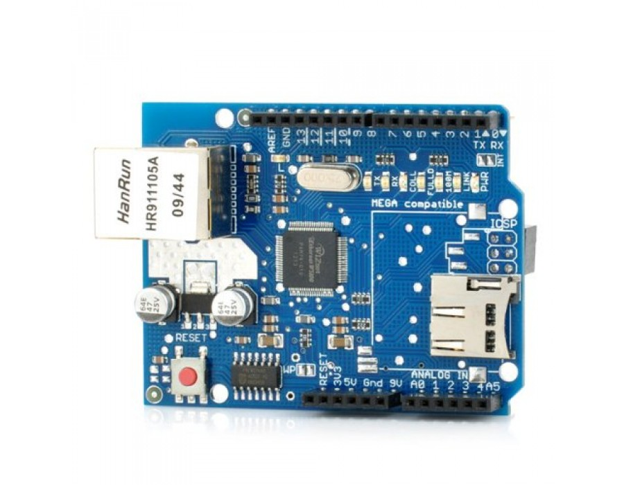 How to use enc28j60 ethernet shield with Arduino