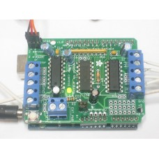 Motor/Stepper/Servo Shield Kit for Arduino