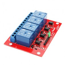 4-Channel Relay Module - 12V with Optocoupler