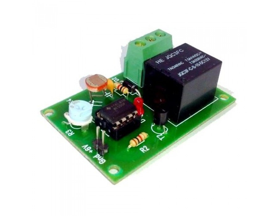 Buy LDR Based Relay Board in India   Fab.to.Lab