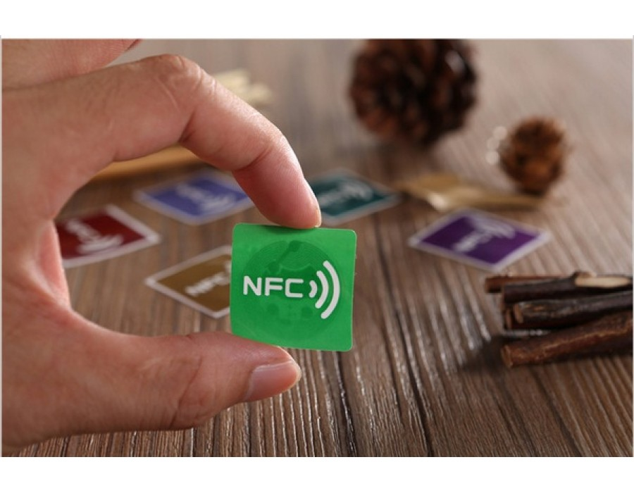 NFC Sticker label for NFC Phone - NTAG203 (Colored)