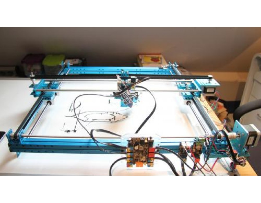 Makeblock XY-Plotter Kit v2 0 (Without Electronics)