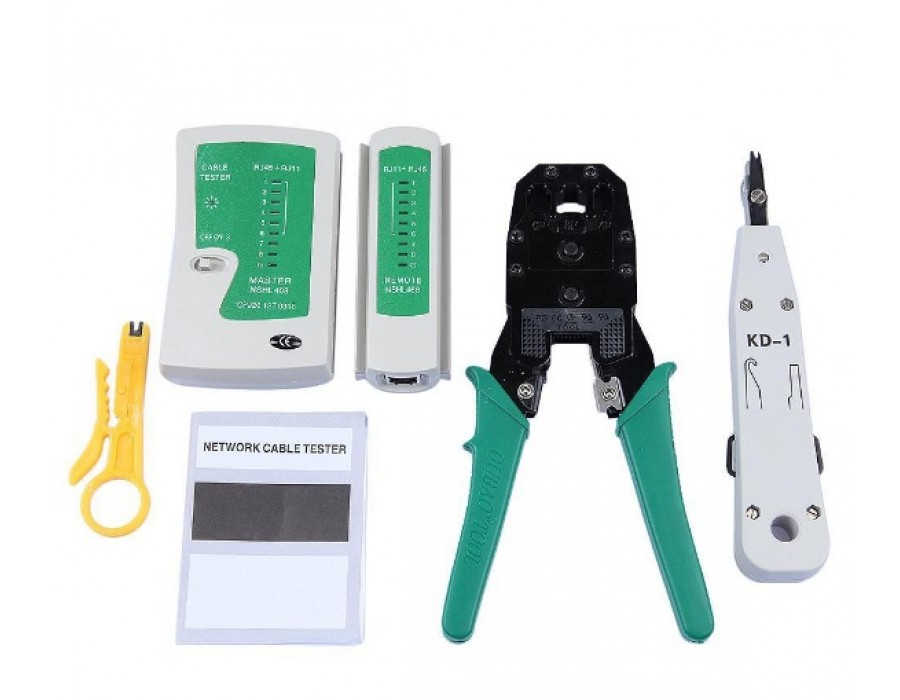 RJ45 RJ11 RJ12 CAT5 Network Tool Kit