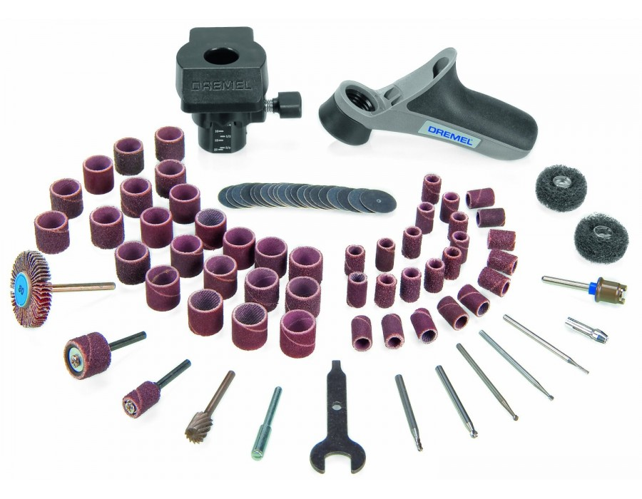 Buy Dremel Woodworking Modular Accessory Set - 730 online ...