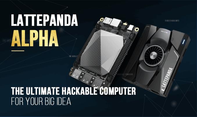 LattePanda Alpha 800s/ Alpha 864 -Tiny Ultimate Windows / Linux Device